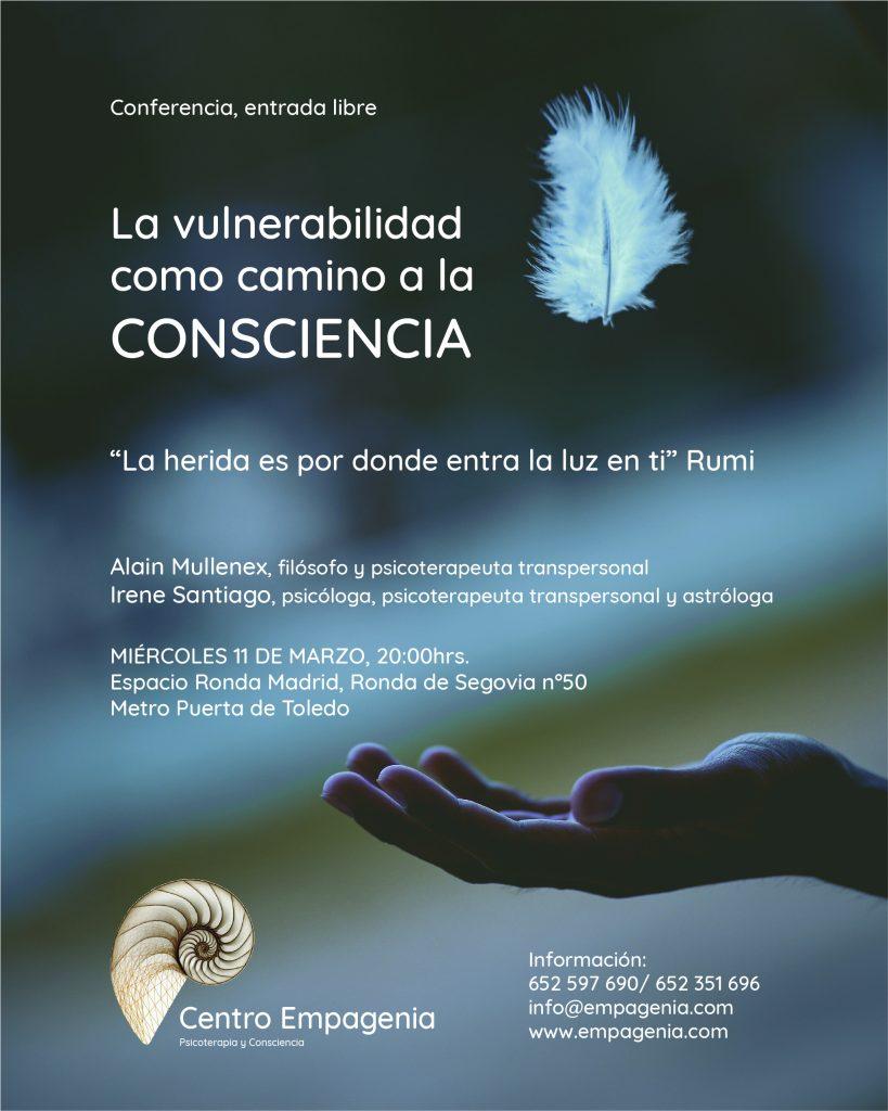 Conferencia Madrid 11 de marzo 2020